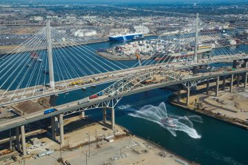 Gerald Desmond Bridge Grand Opening